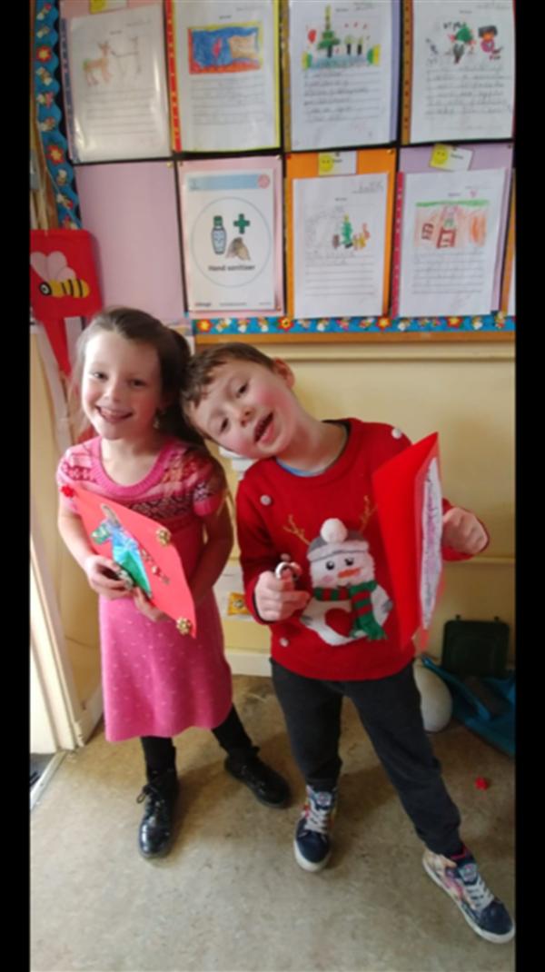 Senior Infants Christmas Art