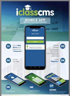 iclasscms Mobile App