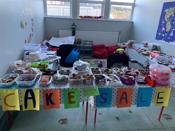 Cake Sale & Book Fair