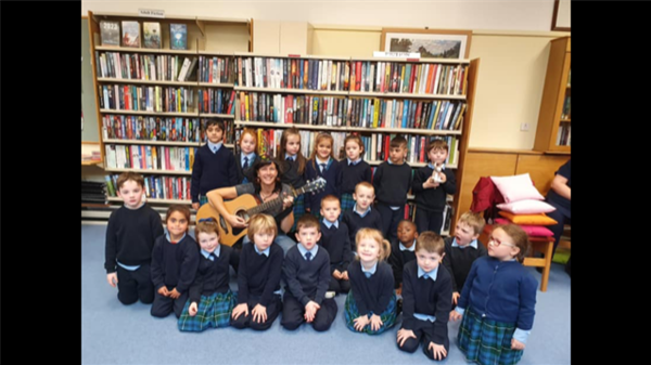Visit to the Library
