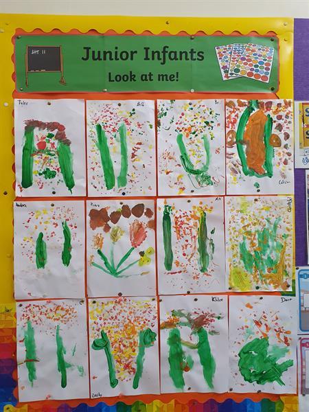 Junior Infants Artwork