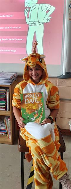 Roald Dahl Day in 5th & 6th Class