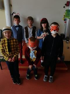 Roald Dahl Day in 1st Class